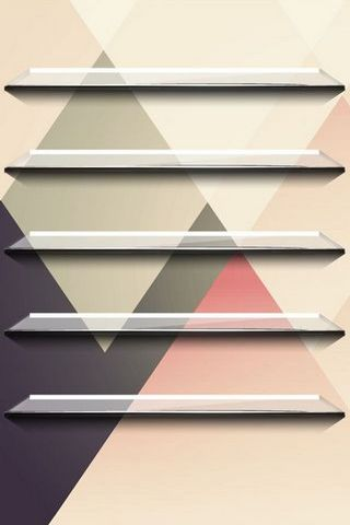 Abstract Shelf