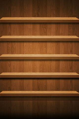 Pure Wood Shelf