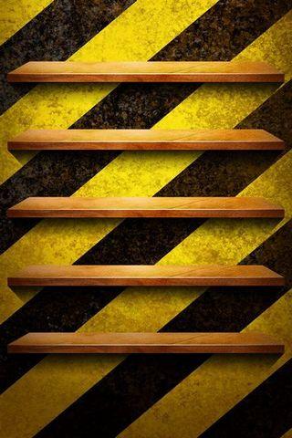Zebra Cross Shelf