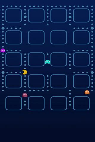 Prateleiras Pac-Man