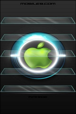 Logo Apple Neon