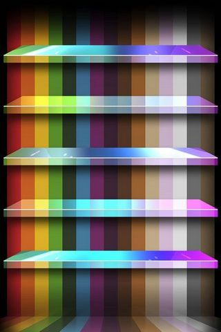 IPhone 5 Shelves Color Lines