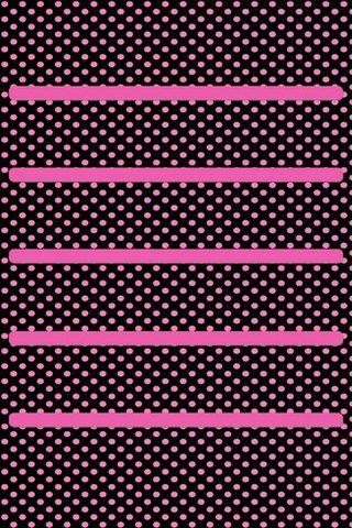 Розовый Полкадот