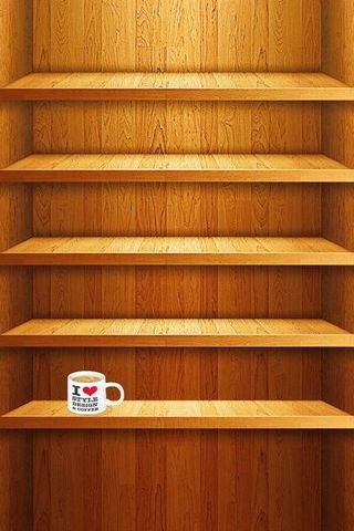 IPhone 5 Shelves Coffee Cup