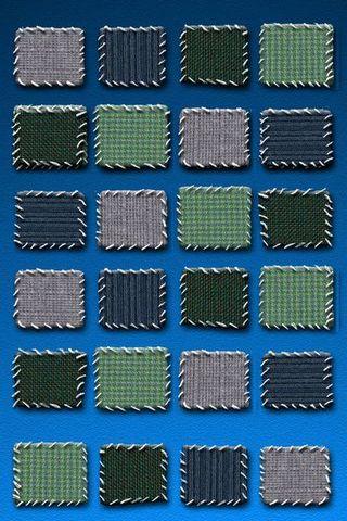 Blue BG W Fabric Shelves (IPhone 5)