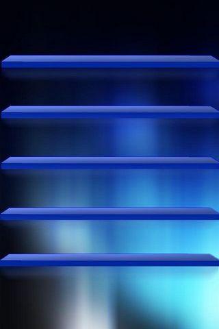 IPhone 5 Shelves Blue