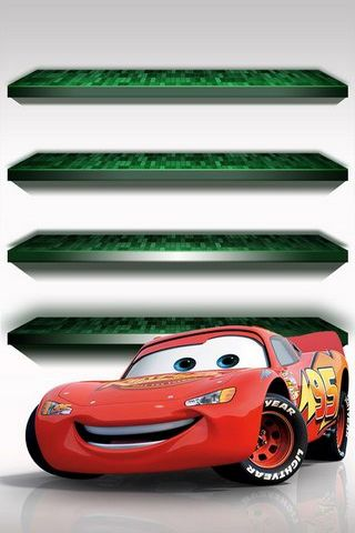 IPhone 5 Shelves Cars