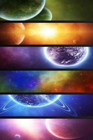 Various Planet Shelf