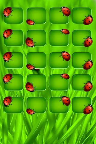 Lady Bug Shelves (Home Screen IP5)