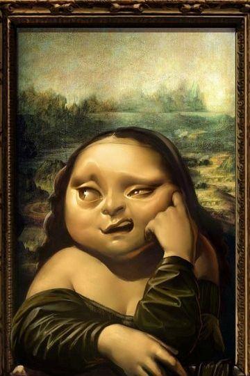 Funny Monalisa