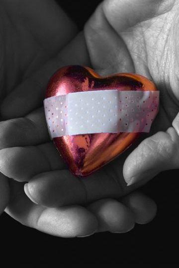 หัวใจที่มือ