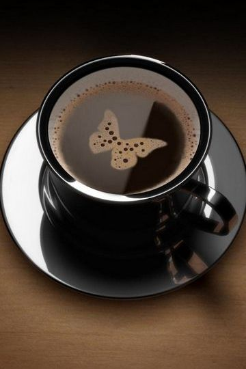 Butterfly-in-the-coffee