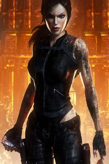 Girl Tomb Raider