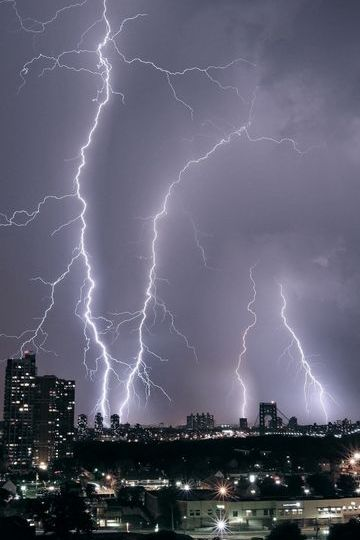 Lightning In New York