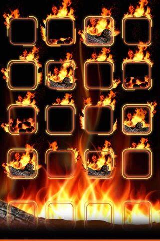 Rak terbakar