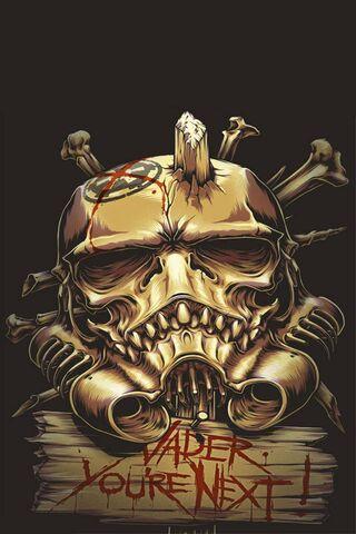 Skull Stars Wars