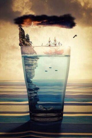 प्रकृति ग्लास