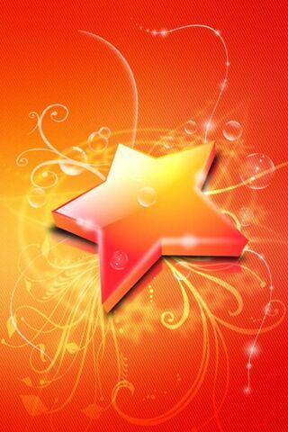 Orange dan Red Star