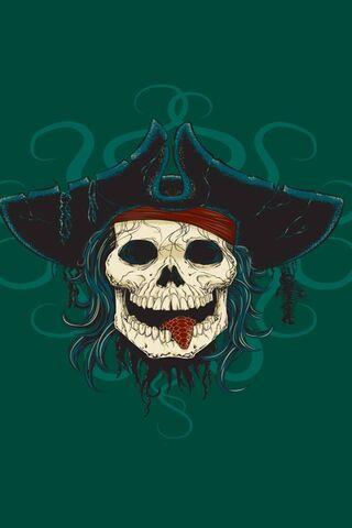 Skull Pirate Sea