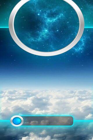 Galaxy Lock Screen