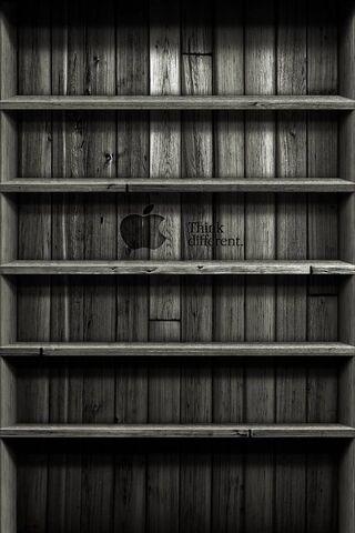 Apple Wood Shelves