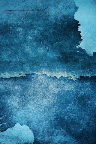 Синяя стена искусства