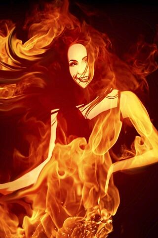 Hot Fire Girl
