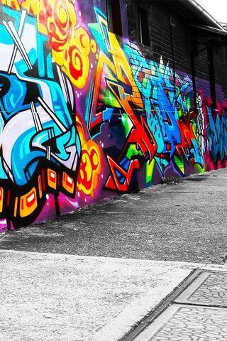 Tường Graffiti