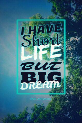 Short Life Big Dream