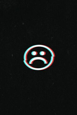 उदास चेहरा