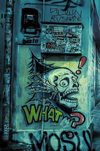 Straßen-Graffiti