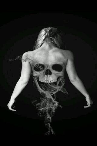 Dark Skull Girl