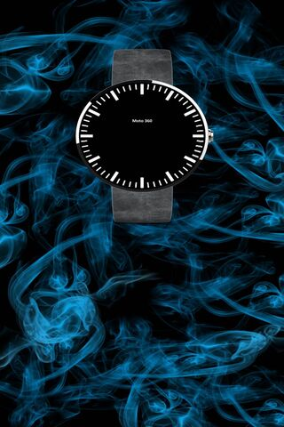 Moto 360 Clockwidget