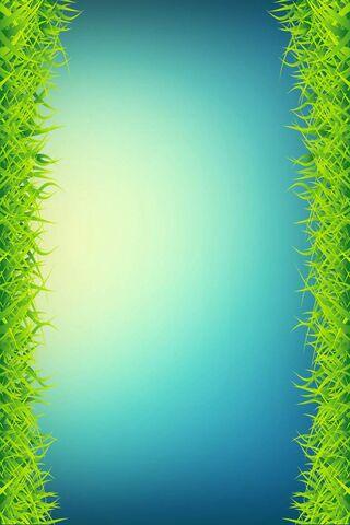حافة العشب