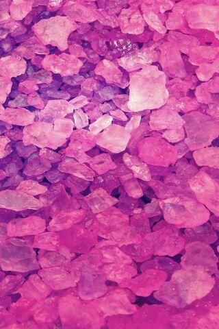 गुलाबी क्रिस्टल