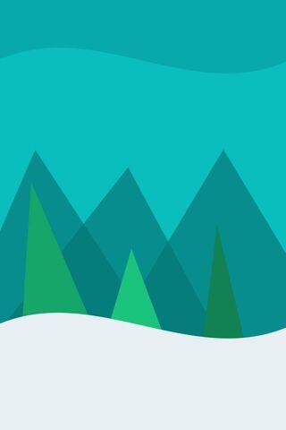 शीतकालीन वन