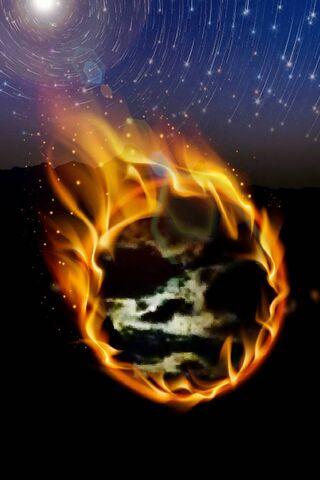 Ogień na niebie