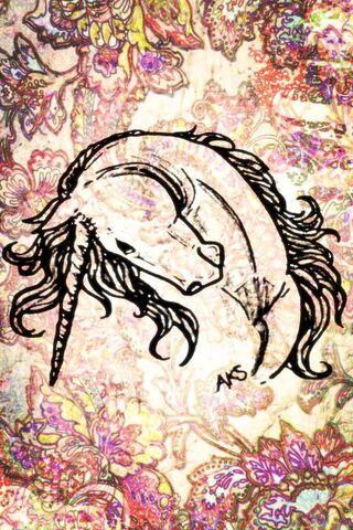 Seni Curve Unicorn