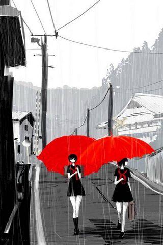 Rain Over Gray City