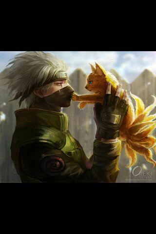 Kakashi With Naruto