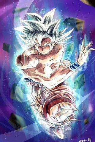 Goku Fase Dios
