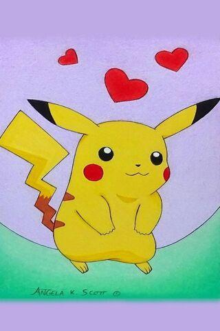 Pikachu Pokemon Aşk