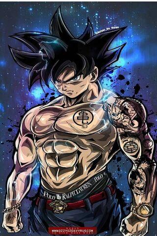 Ultra Intrinct Goku
