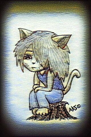 Cat Kid Art