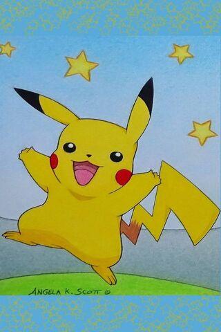 Ngôi sao Pokemon Pikachu