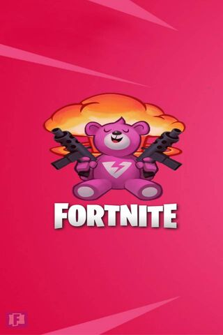 Fortnite Bear Wallpaper Download To Your Mobile From Phoneky