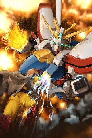 Pembakaran Gundam