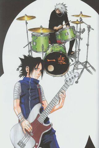 Sasuke - Kakashi