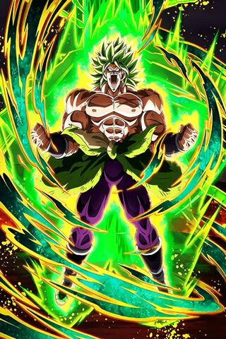 Legendary Ssj Broly Wallpaper Download To Your Mobile From Phoneky