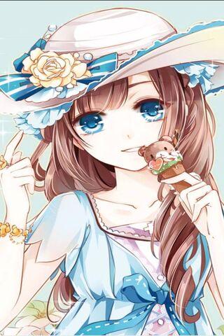 नीली आंखों वाली लड़की
